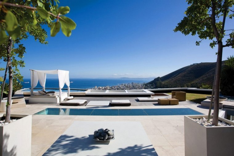 decoracion terraza atico diseno espacio amplio piscina lugar descanso ideas