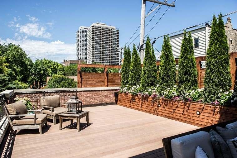 decoracin terraza tico con plantas para decorar - Decorar Terraza Atico