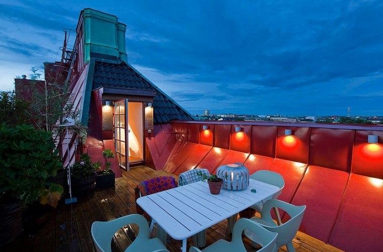 decoracion terraza diseno espacios estrechos ideas