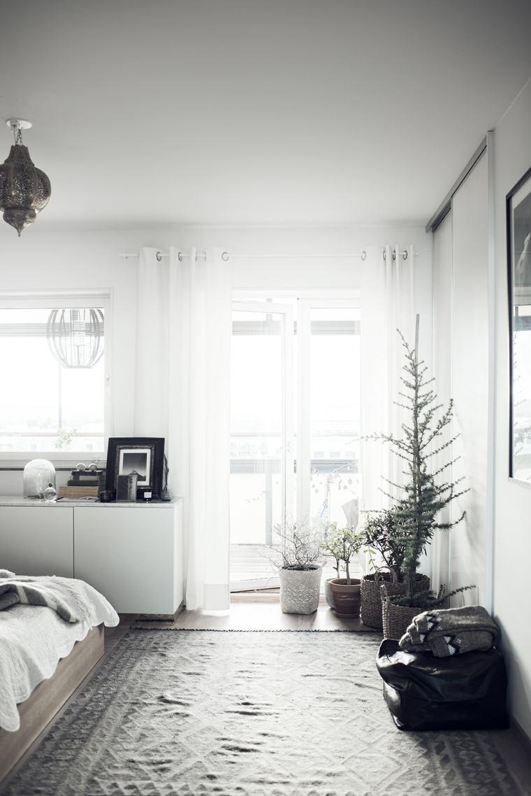 decorar con plantas opciones interiores modernos ideas
