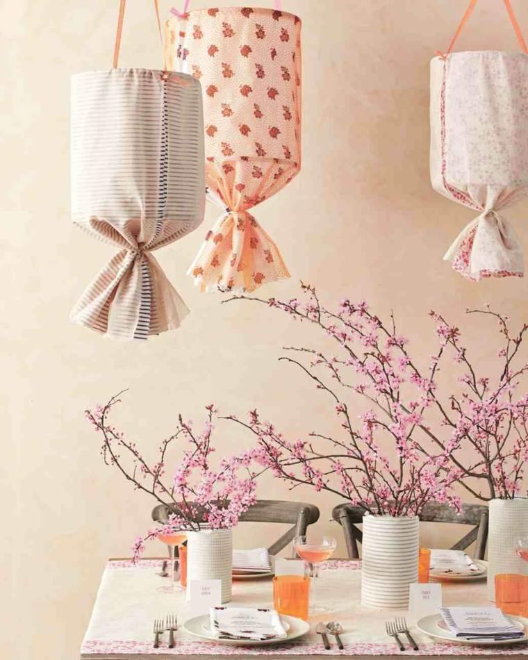 decorar con plantas opciones ramas arboles ideas