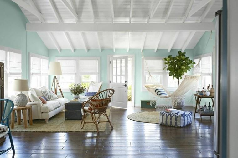 decorar plantas opciones arbol grande casa moderna ideas