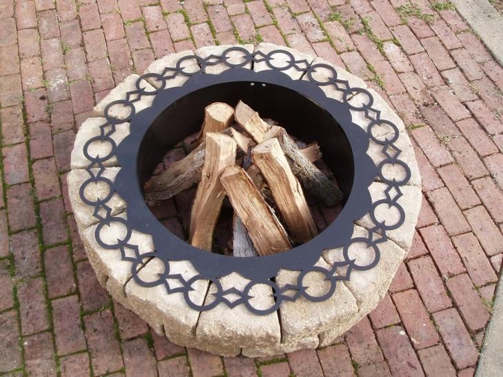 decorativo formas conceptos ladrillos troncos