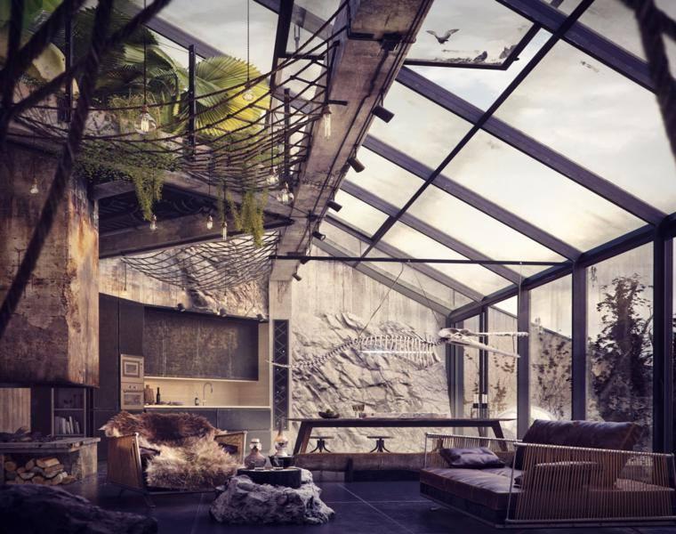 diseño loft Bartosz Domiczek