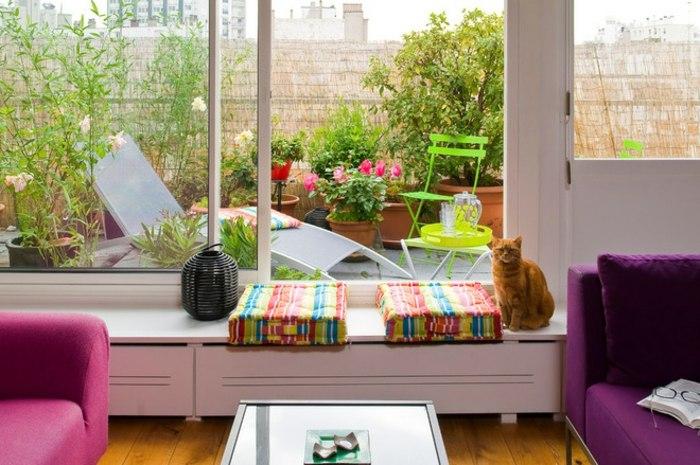 diseño economico barato terrazas cojines