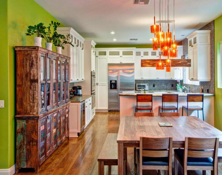 diseño cocina estilo eclectico