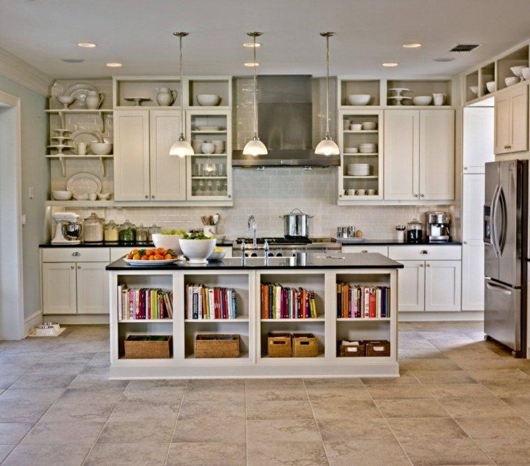 Cocina blanca - 42 diseños de cocinas que te encantarán -
