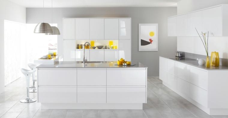 Cocina blanca 42 dise os de cocinas que te encantar n for Cocinas disenos 2016