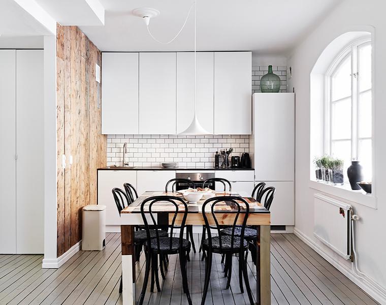 diseno cocina nordica moderna blanca