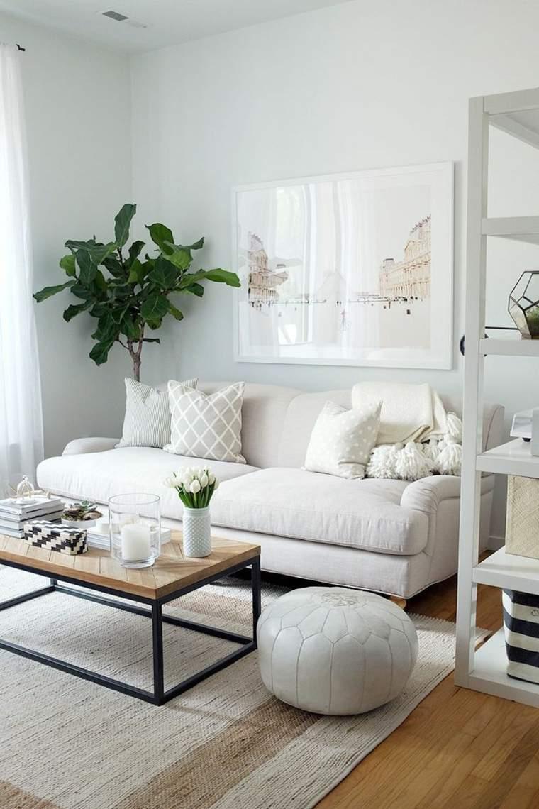 Estilo escandinavo en la decoraci n del hogar - Diseno salon ...