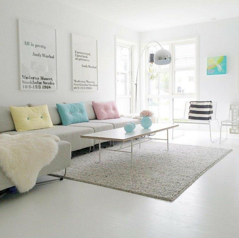 Decoraci n estilo n rdico e ideas de muebles - Diseno salon ...