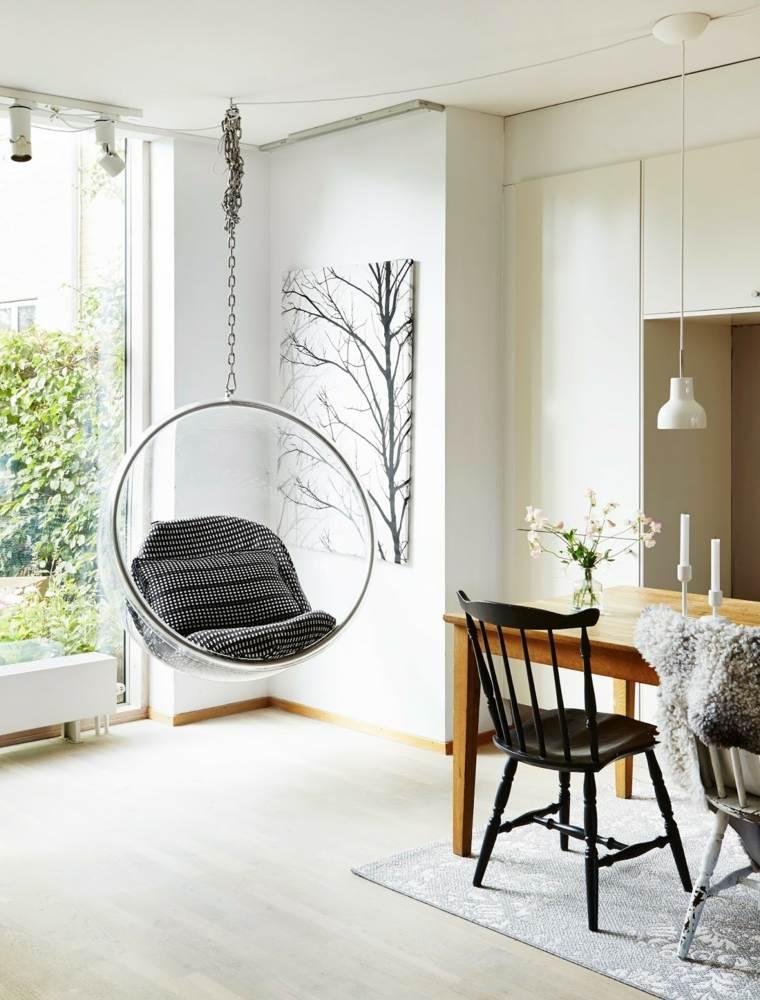 diseno estilo escandinavo silla colgante ideas