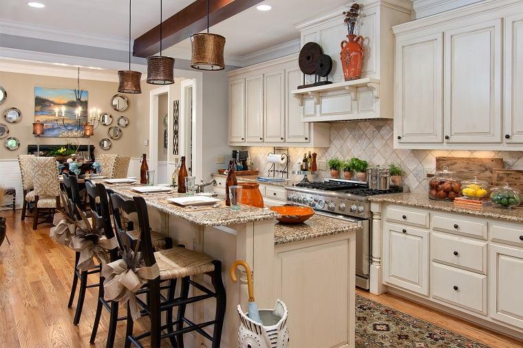 diseno interior cocina variedad detalles decorativos cocina blanca ideas