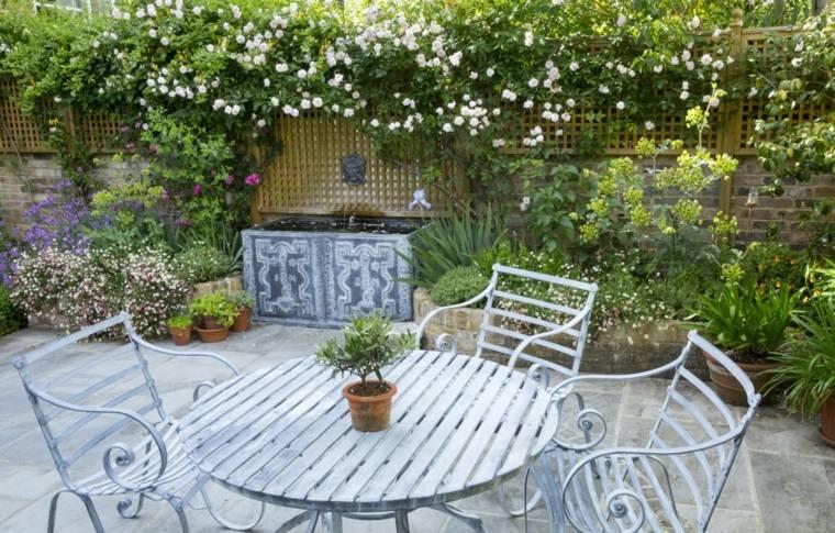 diseno jardin urbano estilo tradicional ideas