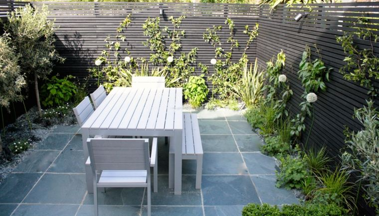 Jardiner a dise o de jard n urbano en 28 ideas for Jardines muy pequenos diseno