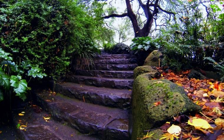 diseno moderno escaleras exteriores piedra