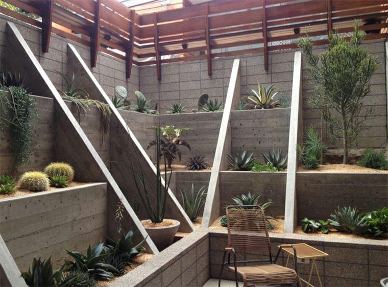 diseno terrazas modernas patio pequeno