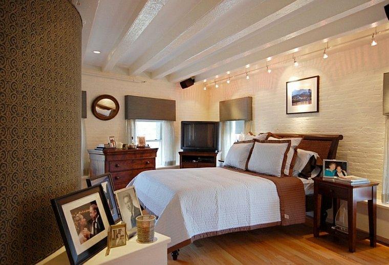 dormitorios diseno lamparas techo extremos ideas