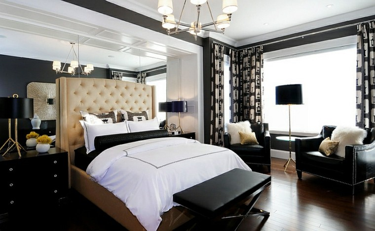 dormitorios diseno varias lamparas dormitorio ideas