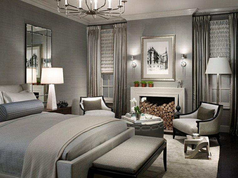 dormitorios originales combinacion distintos foco luz ideas