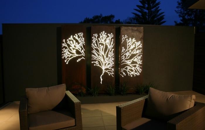 efectos nocturnos seas esquemas luminarias