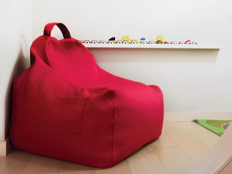 espacios juegos infantiles colores sillon