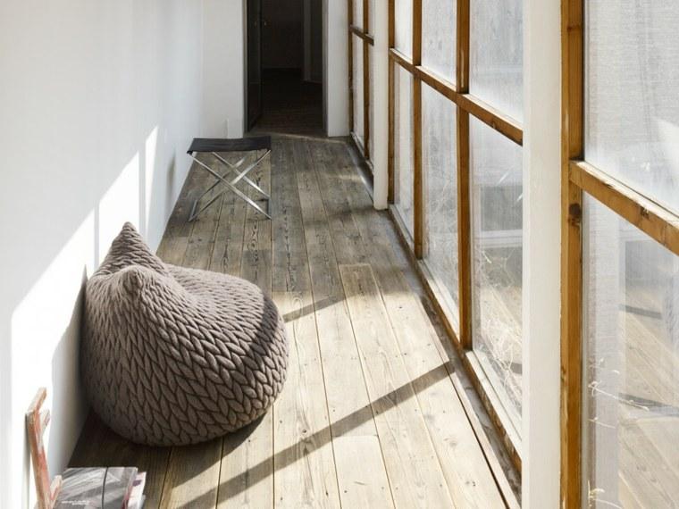 espacios relajacion conceptos figuras maderas