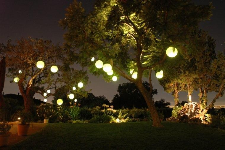 especiales decorados imagenes nocturnas cesped