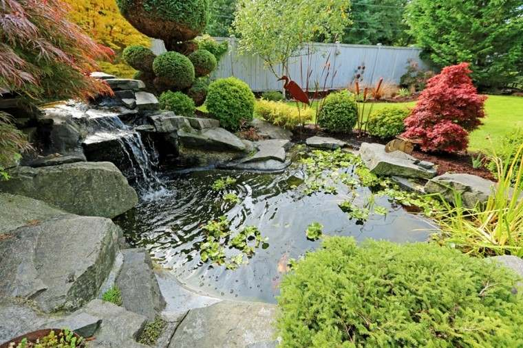 Estanques de jard n ideas y conesjos - Plantas para jardin zen ...