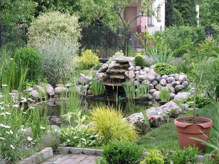 estanques jardin opciones aire libre diseno jardin amplio ideas