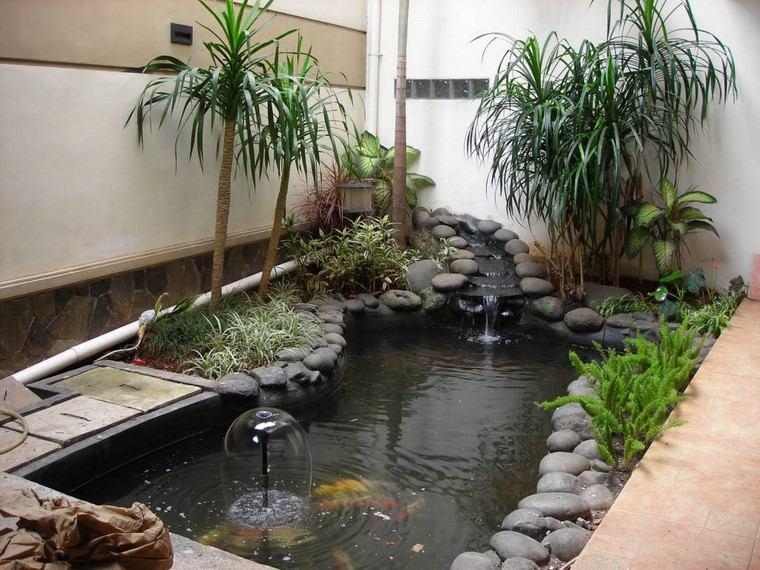 estanques jardin opciones aire libre diseno minimalista ideas