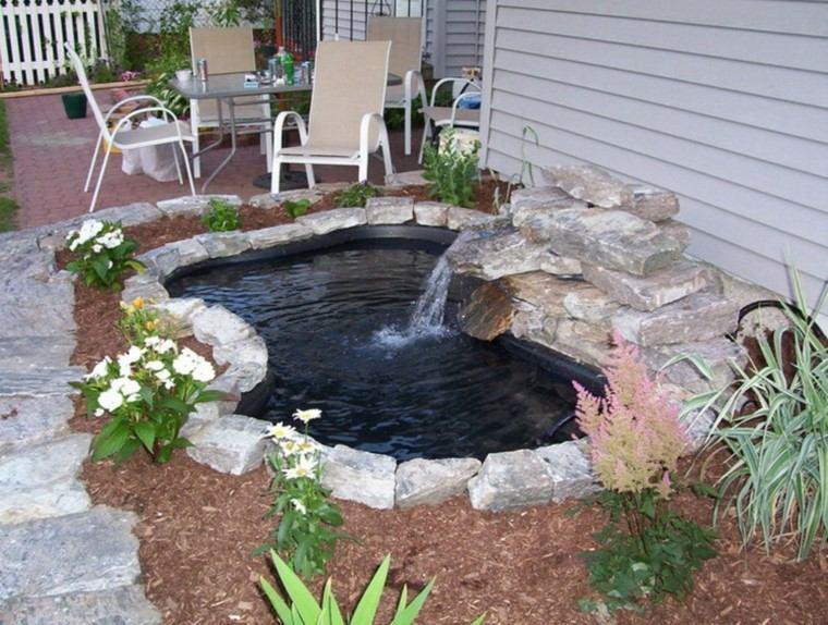 estanques jardin trasero opciones aire libre ideas