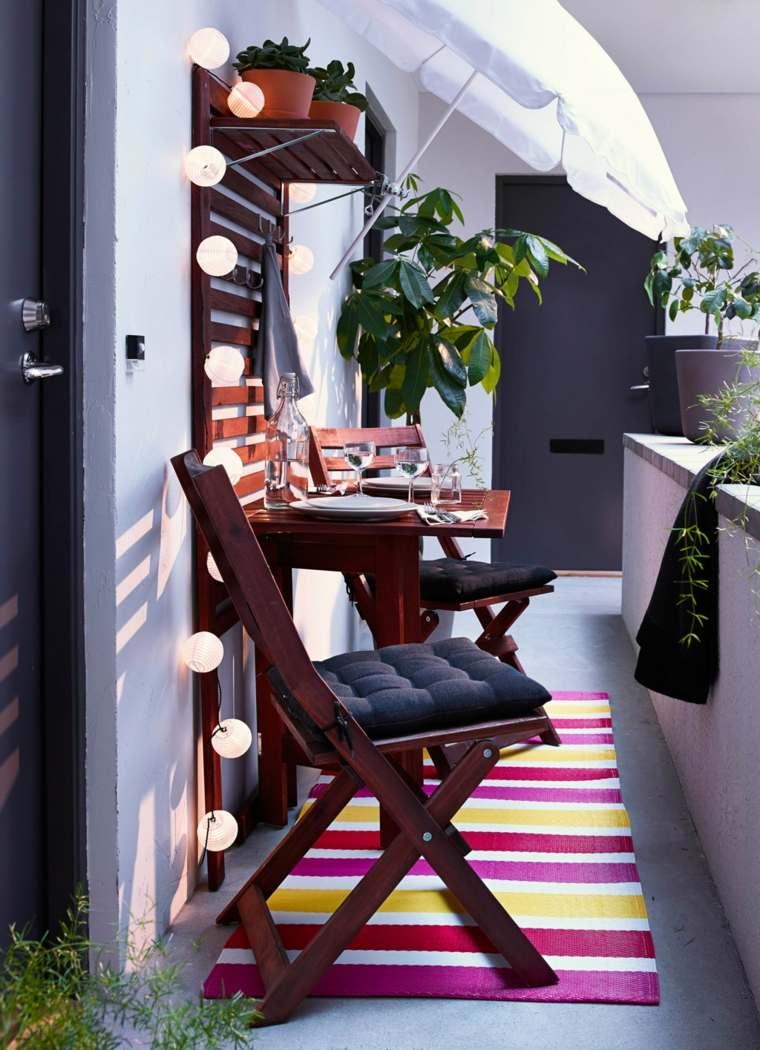 estrecho soluciones muebles madera rosa