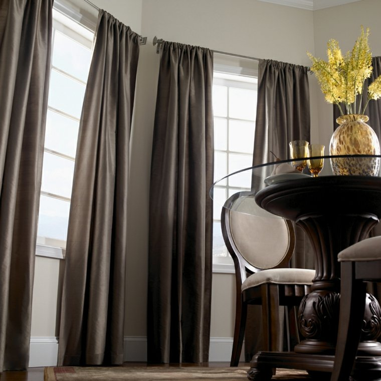 Cortinas modernas para salon 24 dise os originales - Cortinas con estilo ...