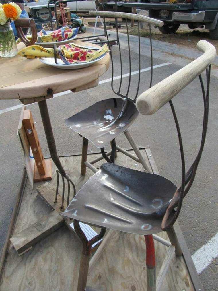 estupenda idea sillas terraza herramientas