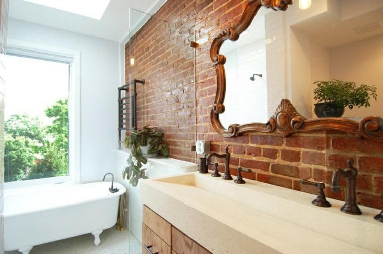 Decorar con espejos 34 ideas alucinantes para interiores - Cuarto bano diseno ...