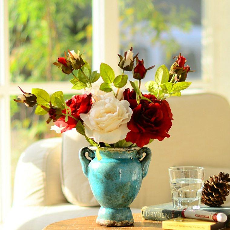 flores casa decoracion rosas ramo ideas