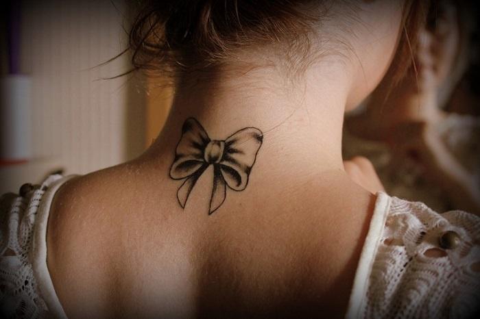 fotos de tatuajes disenos mujeres lazo ideas