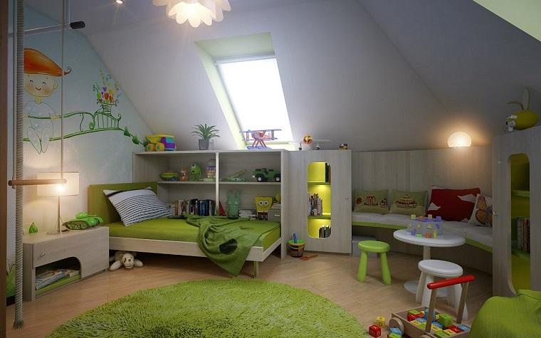 Habitaciones de niños con diseños animados -
