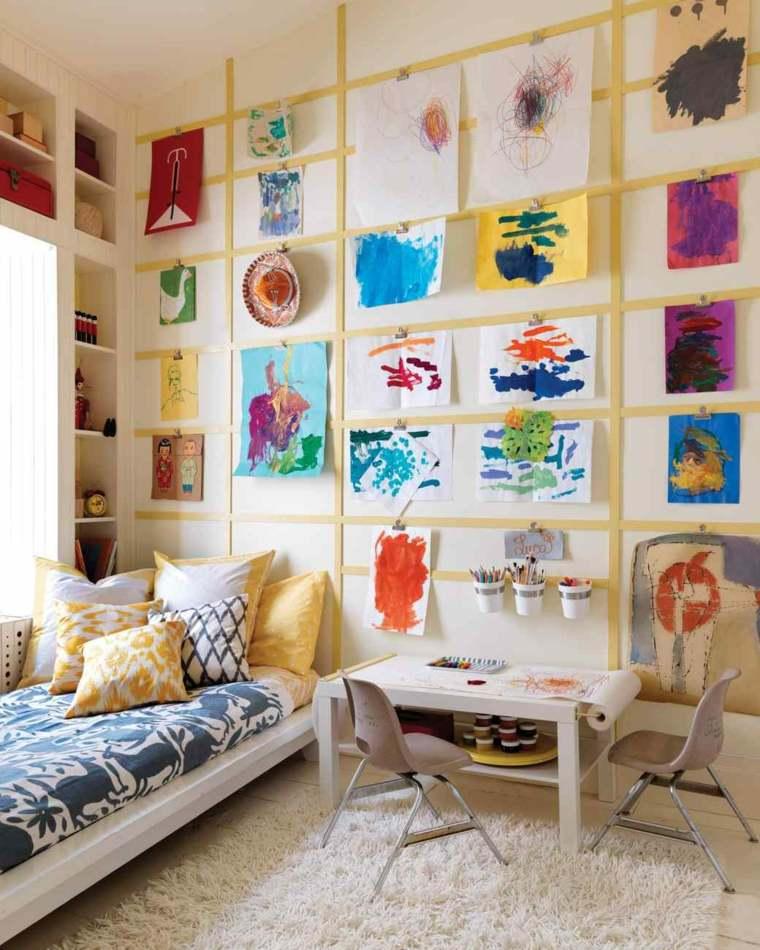 Habitaciones de ni os con dise os animados for Disenos para paredes
