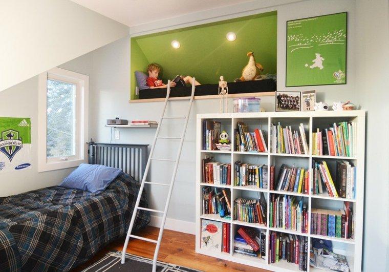 habitaciones infantiles ideas partes segmentos