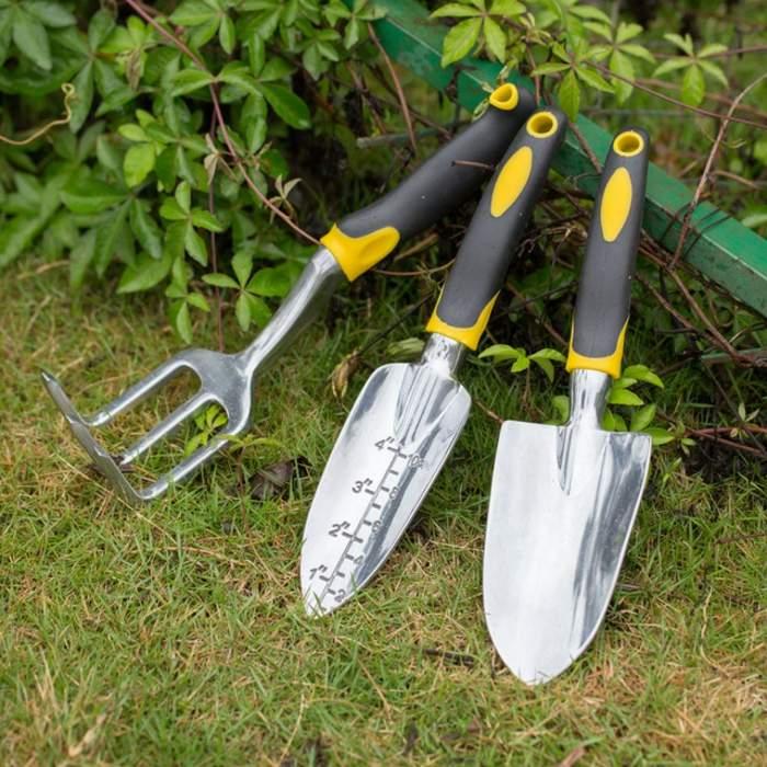 herramientas de jardineria suelos espaciales aluminio