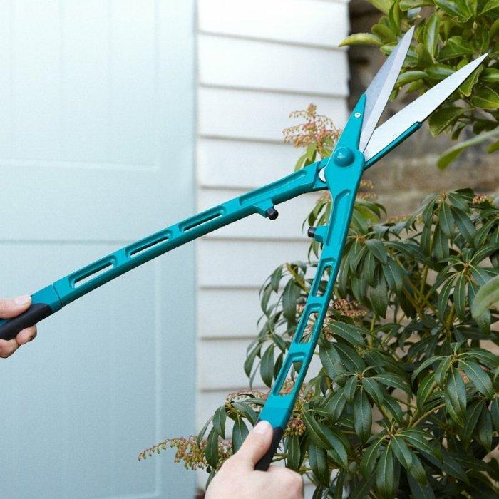 herramientas de jardineria tijeras alargadas alargado