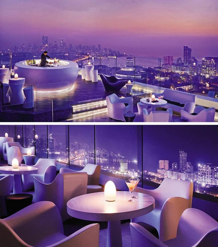 hoteles romanticos terrazas Four Seasons hotel Mumbai terrazas