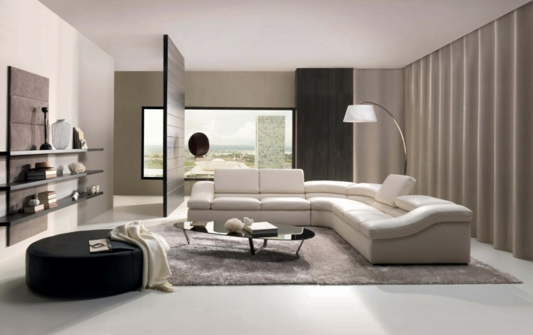 ideas cortinas modernas para salon