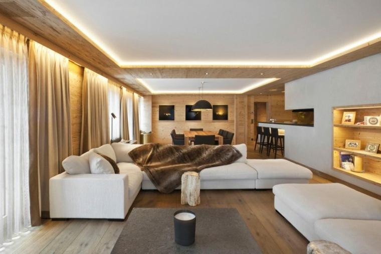 ideas decoracion salon diseno moderno Plusdesign