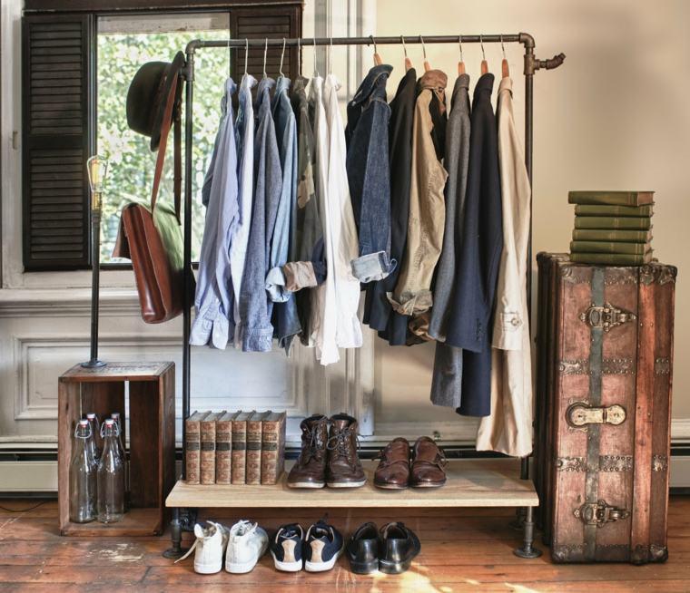 ideas organizar un armario ropa hombre