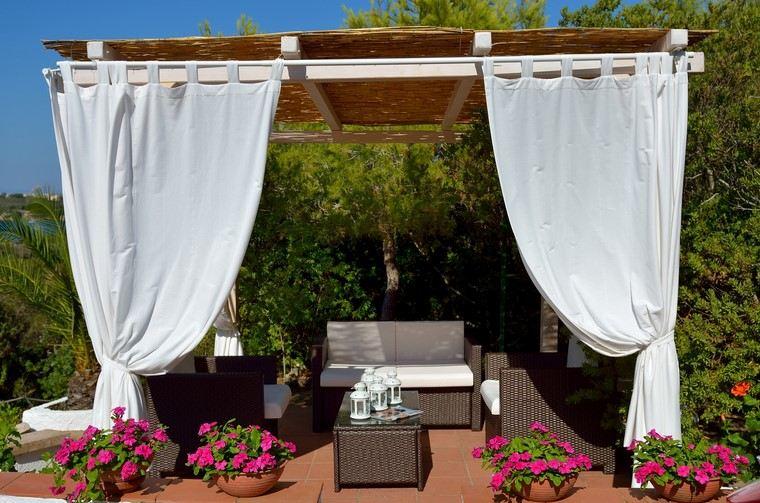 terraza accesorios aire libre modernos ideas