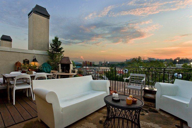 ideas terrazas moderna diseno contemporaneo aire libre muebles