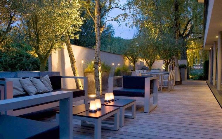 Ideas terrazas con dise os actuales y modernos - Comedor terraza ...